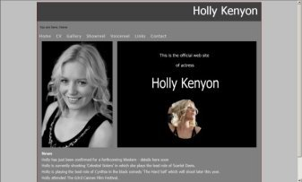 Holly Kenyon Actress